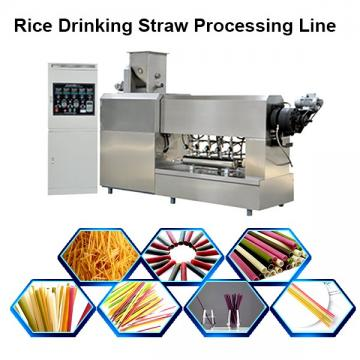 Edible Rice Straw Drinking Straw Making Machine Pasta Macaroni Rice Flour Mixer Extruder Equipment