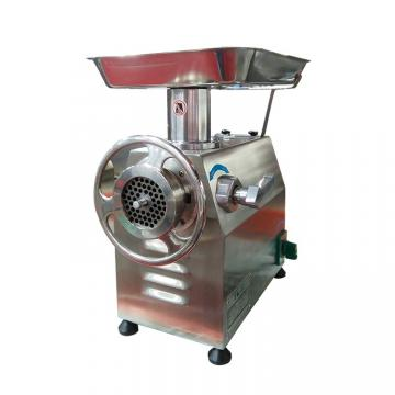 Vertical stainless steel industrial 1.1kw meat grinder 300 kg/h production capacity meat grinder sizes 8#