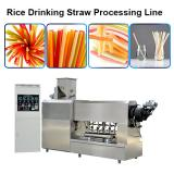 good quality and best service rice straw machine pasta straw extruder and cutter